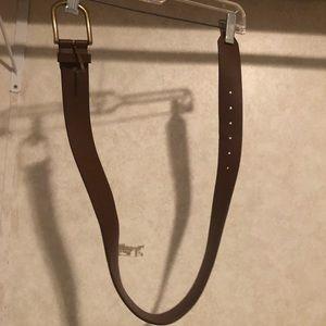 Women's thick belt